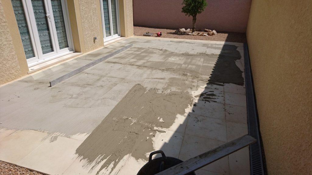 dalles terrasse exterieur top dalle de terrasse with dalles terrasse exterieur affordable. Black Bedroom Furniture Sets. Home Design Ideas